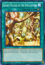 Yu-Gi-Oh Secret Village of the Spellcaster 1st Edition Unplayed/Mint/PACK FRESH!