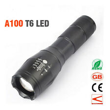 Tactical Military Grade Torch 4000LM A100 ShadowHawk X800 Cree T6 XML LED