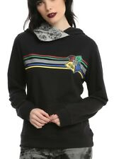 Harry Potter Hogwarts Crest Cowl Neck Pullover Hoodie Size Medium NWT!