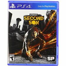 PS4 Games Infamous Second Son Brand New & Sealed
