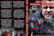 DVD REAL FOOTBALL FACTORIES ENGLAND UNCUT (FIRMS,MOB,FIRM,DOKU,CASUALS,CASUAL)
