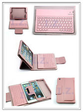 Bluetooth Wireless Keyboard PU Leather Case Cover Stand for iPad Mini 1 2 3 4