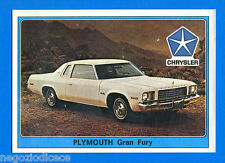 SUPER AUTO - Panini 1977 -Figurina-Sticker n. 80 - PLYMOUTH GRAN FURY -Rec