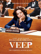 Veep: The Complete Second Season (DVD, 2014, 2-Disc Set)
