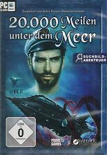 CD-ROM + 20.000 Meilen unter dem Meer + Abenteuer + Kapitän Nemo + MAC + WIN 7