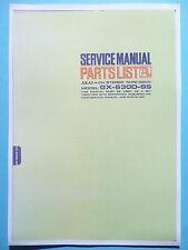 Service Manual-Istruzioni per AKAI gx-630d-ss