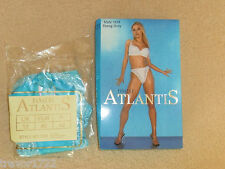 PANACHE ATLANTIS DESIGNER LADIES GIRLS WOMENS 12 BLUE THONG KNICKERS UNDERWEAR