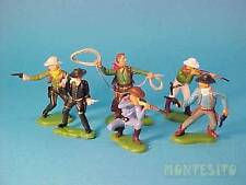 BRITAINS HERALD DSG * COWBOYS on FOOT * FAR WEST * PLASTIC TOY SOLDIERS