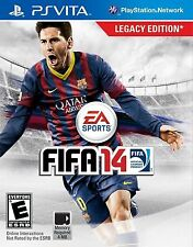 FIFA 14 2014 USED SEALED Sony PlayStation PS Vita Free Shipping