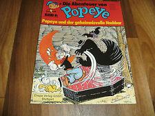 Abenteuer von POPEYE   # 8 -- der Geheimnisvolle Nachbar / Ehapa 1. Auflage 1978