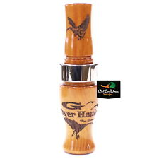 TIM GROUNDS G OVERHAULER SHORT REED CANADA GOOSE CALL HEDGE WOOD