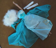 #1666  BARBIE DEBUTANTE BALL OUTFIT COMPLETE VERY NICE !!!