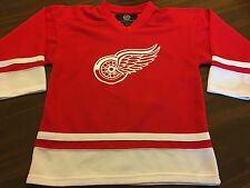 DETROIT RED WINGS NHL #17 HULL HOCKEY JERSEY  BY NHL SIZE YTH LARGE 14/16