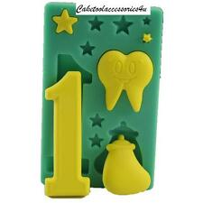 First Birthday 1st Baby Shape Silicone Mould Cake Decorations Fondant Icing