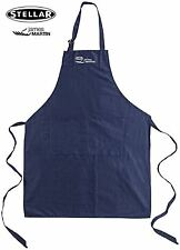 Stellar James Martin Cotton Chef's Adult Kitchen Apron in Dark Blue - STE07JM