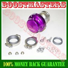 38mm V-BAND EMUSA wastegate PURPLE NEW T3/T4 T3 GT35 T70 T4 GT30 Turbo charge