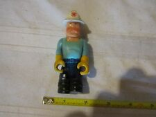 Fisher Price Husky Helper police man construction fireman fire chief firefighter