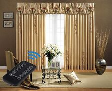 "2-Meter (79"") Remote Control Motorized Curtain Tracks and wall switch + Free P&P"