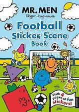 NEW  MR MEN - FOOTBALL STICKER SCENE book a4 (4 pages of stickers)