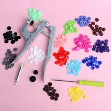 KAM Snap Pliers KAM Button+150 set T5 Plastic Resin Press Stud Cloth Diaper