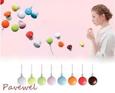 10 pcs/lot chocolate bean multipurpose earphone earbud with various colors