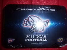 Guaranteed Auto 2011 UD Sweet Spot Hobby Tin? Julio Jones Cam Newton AJ Green ?
