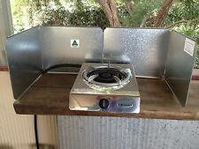 WIND GUARD 4 PANEL.(Gas Cooker Camping Cooking Stove BBQ Portable NOT FOR SALE)