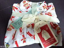 2T Pottery Barn Kids ELF Flannel NIGHTGOWN Christmas Xmas Holiday GIFT Santa NEW