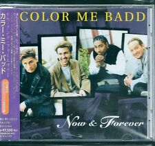 Color Me Badd Now & Forever +1 Japan CD w/obi new jack swing BVCG-645