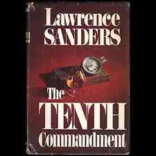 The Tenth Commandment by Lawrence Sanders (1980) First Edition