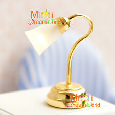 1/12 Dollhouse Miniature Self-control Battery Operated Table Lamp Light