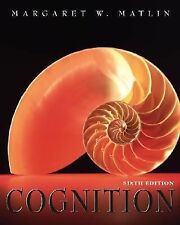 Cognition, Margaret W. Matlin, Very Good Book