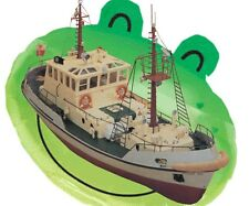 """RADIO CONTROL MODEL BOAT PLAN SCALE 32"""" PILOT BOAT NOTES & PLANS"""