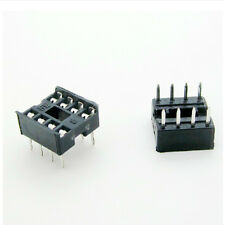 40 Pcs 8 Pin DIP8 Integrated Circuit IC Sockets Adaptor Solder Type FG