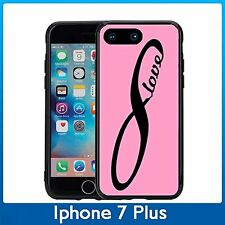 Infiniti Symbol Love Black And Pink For Iphone 7 Plus (5.5) Case Cover By Atomic