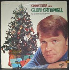 Glen Campbell - Christmas with...Capitol Records re-issue LP