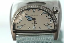 LORENZO POZZAN STRATOSPHERE ITALY WATCH WITH DIAMOND BEZEL