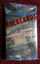 Unopened Pack ROCK CARDS Music ~ Pink Floyd, Black Sabbath, YES, Bon Jovi