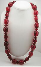"""Joan Rivers Faceted Bead Necklace  28""""  4"""" ext."""