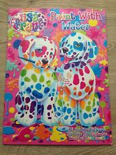 Lisa Frank Paint with Water Coloring Book for Children