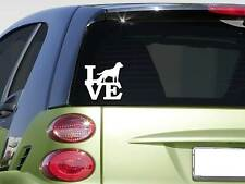 "Labrador Retriever love 6"" STICKER *F243* DECAL leash collar bone dog breed"
