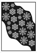Static Cling Christmas Decoration Corner Snow & Snowflake Winter Window Stickers