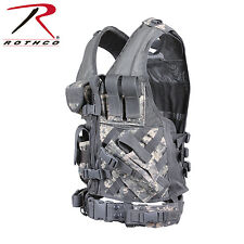 4591 / 6598 / 6491 / 4491 / 6384 / 66491 Rothco Cross Draw MOLLE Tactical Vest