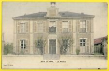 cpa 78 - ABLIS (Yvelines) La MAIRIE en 1907 Simi Bromure A. Breger, Paris
