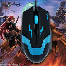 Optical 1600dpi USB 2.0 Wired Gaming Mouse Game Topo per Laptop PC CS CF WOW LOL