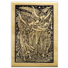 The Angels mounted rubber stamp, Christmas #13
