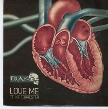 (CE498) Foak, Love Me ft KT Forrester - 2011 DJ CD