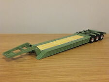 CARARAMA J.B. RAWCLIFFE & SONS LOW LOADER TRUCK TRAILER MODEL CR006 1:50
