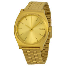 New Nixon Timeteller Gold Dial Gold-Tone Stainless Steel Men's Watch A045511