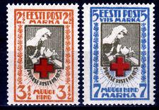 Estland 29-30 A **, Rotes Kreuz, gezähnt